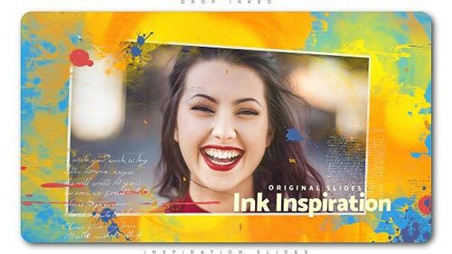 Drop Inked Inspiration Slides - Project for After Effects (Videohive)