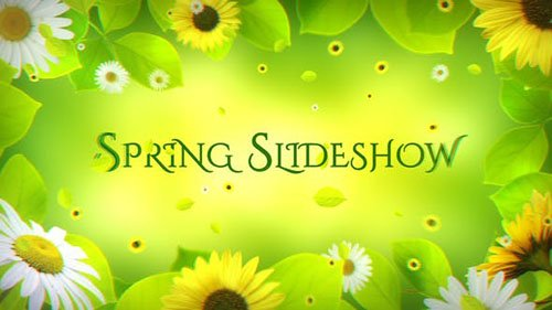 Spring Slideshow 21839087 - Project for After Effects (Videohive)