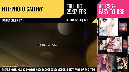 Elitephoto Gallery - Project for After Effects (Videohive)