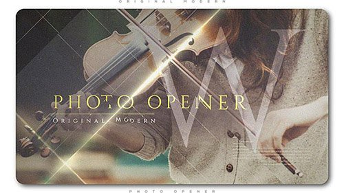 Original Modern Photo Opener - Project for After Effects (Videohive)