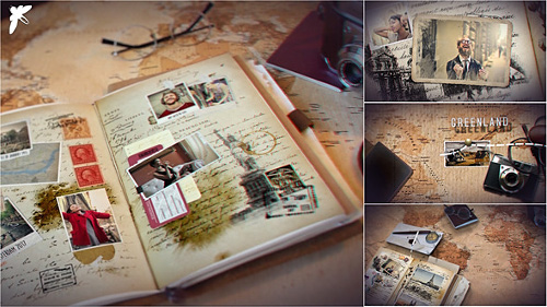 Vintage Travel Journal - Project for After Effects (Videohive)
