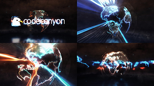 Energy Earth Logo Reveal - Project for After Effects (Videohive)