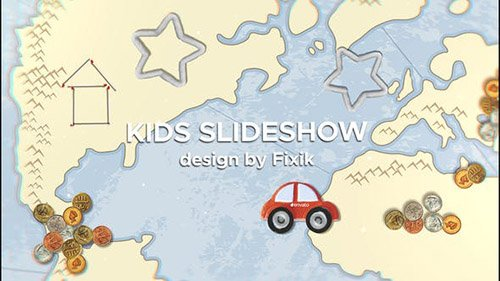 Kids Slideshow II | After Effects Template - Project for After Effects (Videohive)