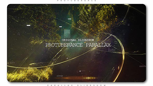 Protuberance Parallax Slideshow - Project for After Effects (Videohive)