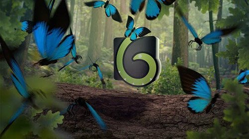 Butterfly Logo Opener 4K - Project for After Effects (Videohive)