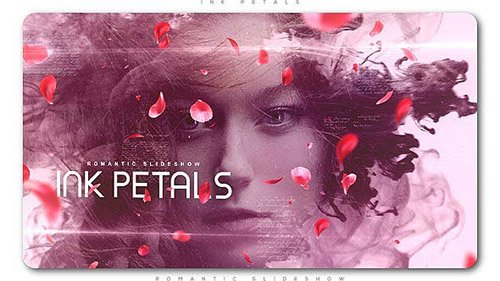 Ink Petals Romantic Slideshow - Project for After Effects (Videohive)