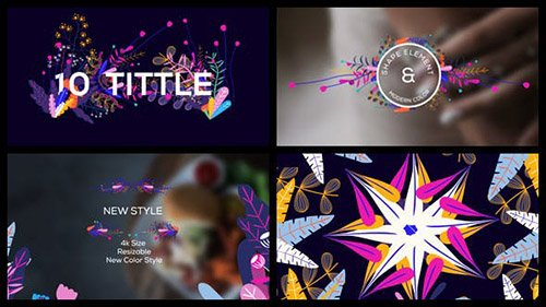 Modern Floral Pack - Project for After Effects (Videohive)