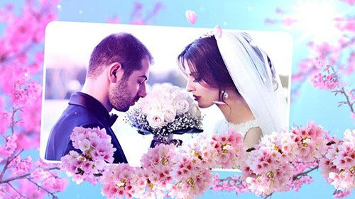 Wedding Flowers Slideshow - Project for After Effects (Videohive)