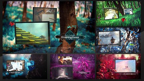 Dreaming Forest Slideshow - Project for After Effects (Videohive)