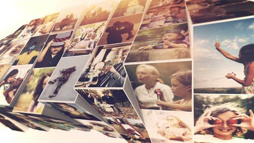 Photo Mosaic Slideshow 24015999 - Project for After Effects (Videohive)