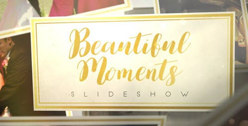 Beautiful Moments Slideshow 17599215 - Project for After Effects
