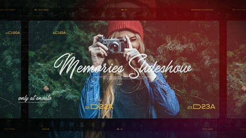 Memories Slideshow / Photo Album / Family and Friends / Travel and Journey - Project for After Effects (Videohive)