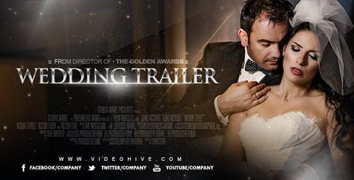 Wedding Trailer 8278783 - Project for After Effects