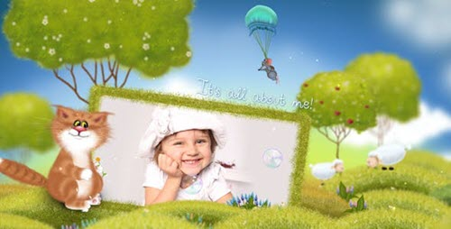 Summer Kids Album | Family Slideshow - Project for After Effects (Videohive)