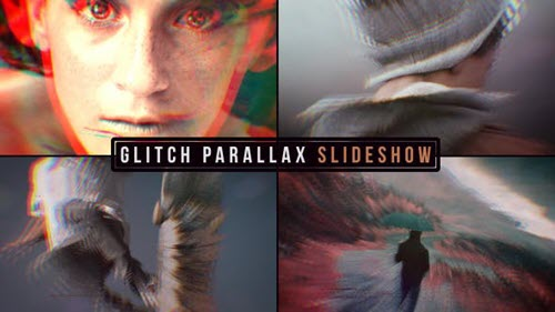 Glitch Parallax Slideshow 19638658 - Project for After Effects (Videohive)