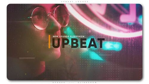 Upbeat Lounge Opener Slideshow - Project for After Effects (Videohive)