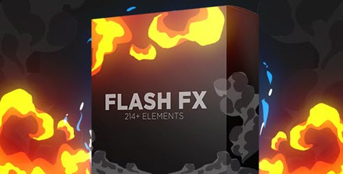 Flash Fx Elements | Hand Drawn Bundle Pack - Motion Graphics (Videohive)