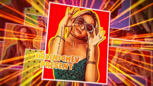 Comics Opener 25092185 - Project for After Effects (Videohive)