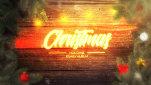 Magic Christmas Slideshow - 25335525 - Project for After Effects (Videohive)