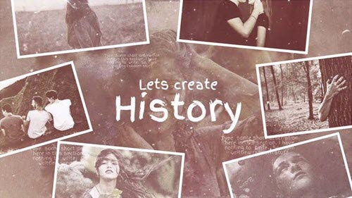 Lets Create History - Project for After Effects (Videohive)