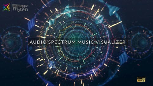 Audio Spectrum Music Visualizer - Project for After Effects (Videohive)