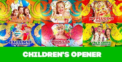 Children's Opener - Project for After Effects (Videohive)