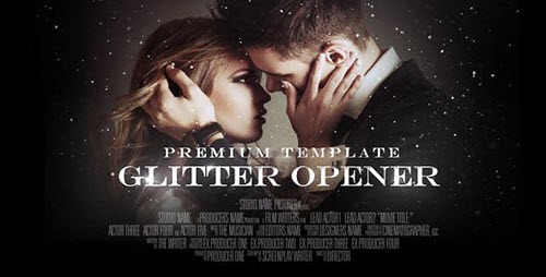 Glitter Opener - Project for After Effects (Videohive)
