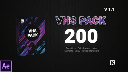 VHS PACK V1.1 - 24750066 - Project for After Effects (Videohive)