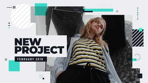 Modern Glitch Promo 23461707 - Project for After Effects (Videohive)