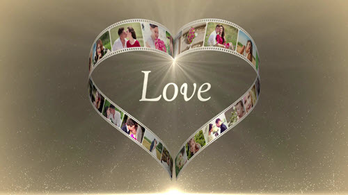MotionElements - Heart Film Love - 11980002 - Project for After Effects