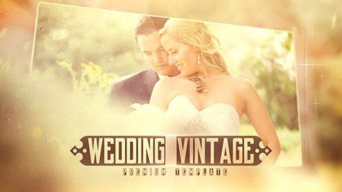 Wedding Vintage - 20202708 - Project for After Effects (Videohive)
