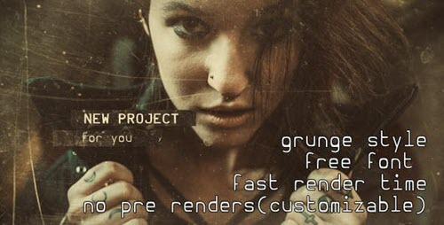 Grunge Slides - Cinematic Trailer - Project for After Effects (Videohive)