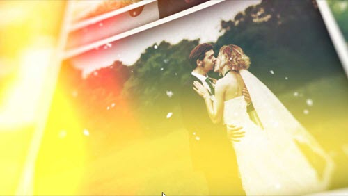 Romantic Wedding Memories Slideshow - 26020892 - Project for After Effects