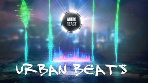 Urban Beats - Audio React - Project for After Effects (Videohive)