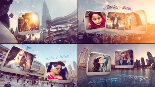 Slide POV In Dubai - Project for After Effects (Videohive)