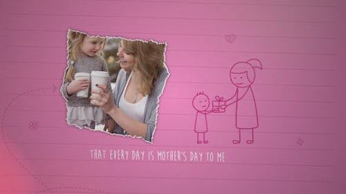 Mother's Day Greeting - 26536639 - Project for After Effects - Videohive