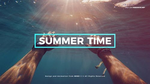 Summer 22508561 - Project for After Effects (Videohive)