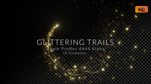 Glittering Trails Pack - 26423015 (Videohive)