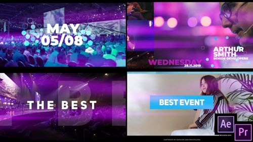 Modern Event 23446694 - Project for After Effects & Premiere Pro (Videohive)