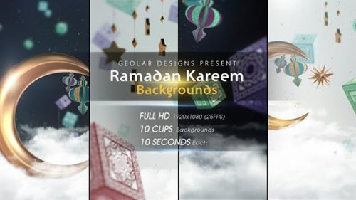 Ramadan Kareem Backgrounds - 26539776 (Videohive)