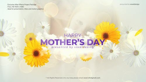 Happy Mother's Day Opener - 26622904 - Project for After Effects