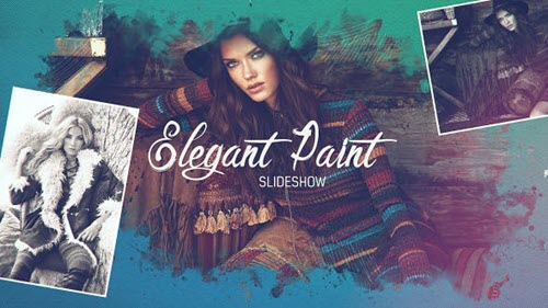 Elegant Paint Slideshow - Project for After Effects (Videohive)