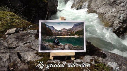 My Greatest Adventure - Photo Galery - Project for After Effects (Videohive)