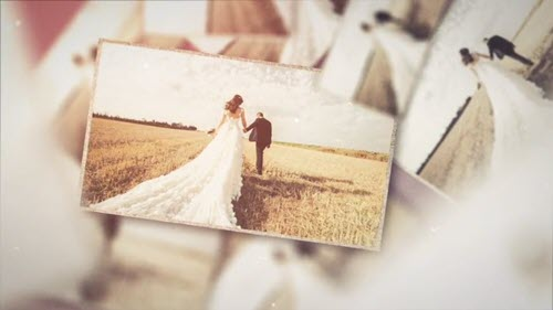 Romantic Wedding Slideshow // Opener 417690 - Project for After Effects