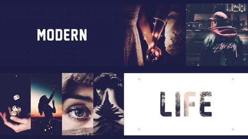 Modern Stomp Opener 22730703 - Project for After Effects (Videohive)