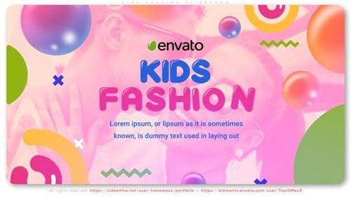 Kids Fashion Slideshow - 26999551 - Project for After Effects - Videohive