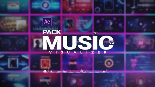 Music Visualizer Pack - 26261391- Project for After Effects - Videohive