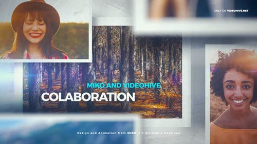 Clean and Simple Slideshow 23584950 - Project for After Effects - Videohive