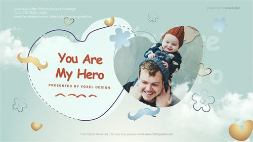 Fathers Day Opener - 27367838 - Project for After Effects - Videohive