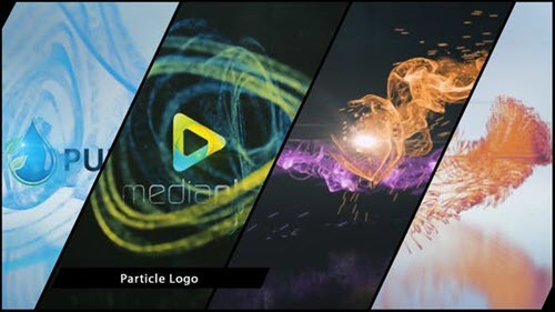 Particle Logo V5 Quick Reveals - Project for After Effects (Videohive)